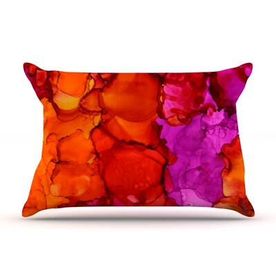 Fierce by Claire Day Featherweight Pillow Sham Size: Queen, Fabric: Woven Polyester