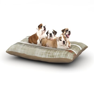CarolLynn Tice Loving Life Dog Pillow with Fleece Cozy Top Size: Large (50 W x 40 D x 8 H)
