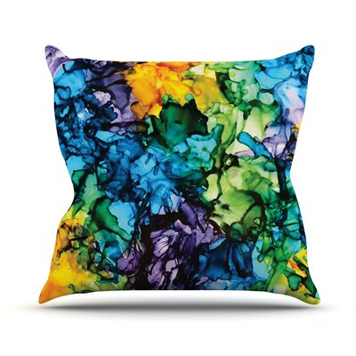 Gra Siorai by Claire Day Throw Pillow Size: 18 H x 18 W x 1 D