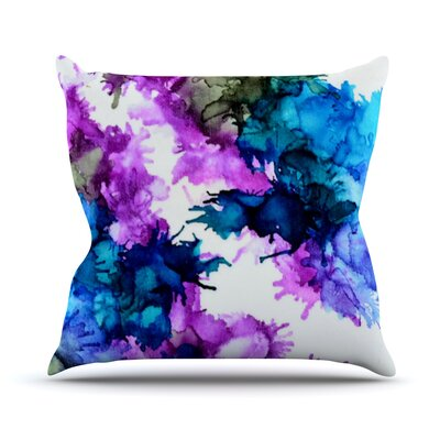 Utopia by Claire Day Throw Pillow Size: 18 H x 18 W x 1 D