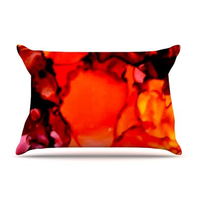 Mordor by Claire Day Featherweight Pillow Sham Size: King, Fabric: Woven Polyester