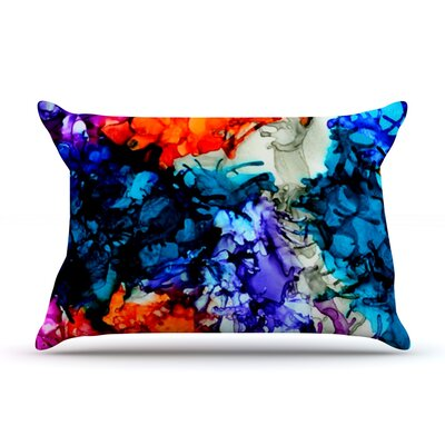 Evanescence by Claire Day Featherweight Pillow Sham Size: King, Fabric: Woven Polyester