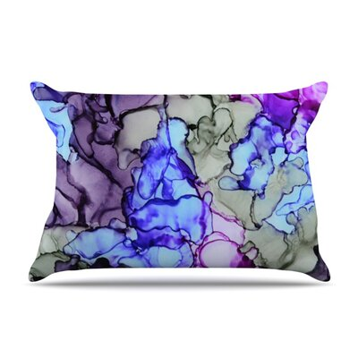 String Theory by Claire Day Featherweight Pillow Sham Size: King, Fabric: Woven Polyester