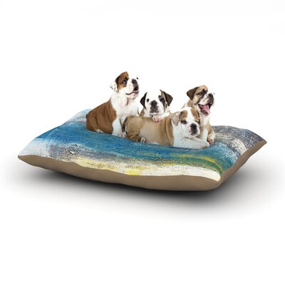 CarolLynn Tice Make a Statement Dog Pillow with Fleece Cozy Top Size: Small (40 W x 30 D x 8 H)