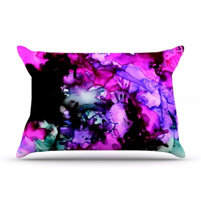 Siren by Claire Day Featherweight Pillow Sham Size: King, Fabric: Woven Polyester