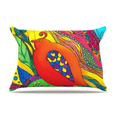 Psycho-Delic Dan by Catherine Holcombe Featherweight Pillow Sham Size: King, Fabric: Woven Polyester