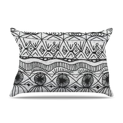 Blanket of Confusion by Catherine Holcombe Featherweight Pillow Sham Size: King, Fabric: Woven Polyester
