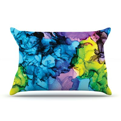 Mermaids by Claire Day Featherweight Pillow Sham Size: Queen, Fabric: Woven Polyester