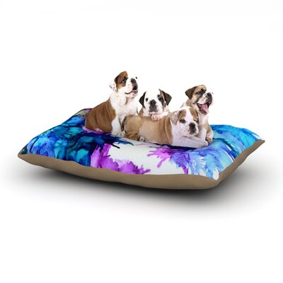 Claire Day Utopia Dog Pillow with Fleece Cozy Top Size: Large (50 W x 40 D x 8 H)