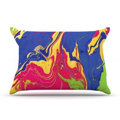 Escaping Reality by Claire Day Featherweight Pillow Sham Size: King, Fabric: Woven Polyester