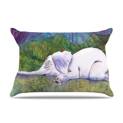 Ernies Dream by Catherine Holcombe Featherweight Pillow Sham Size: King, Fabric: Woven Polyester