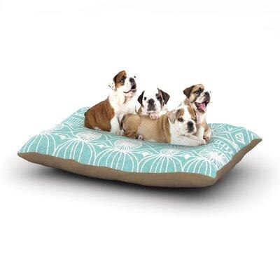 Catherine Holcombe Beach Blanket Bingo Dog Pillow with Fleece Cozy Top Size: Large (50 W x 40 D x 8 H)