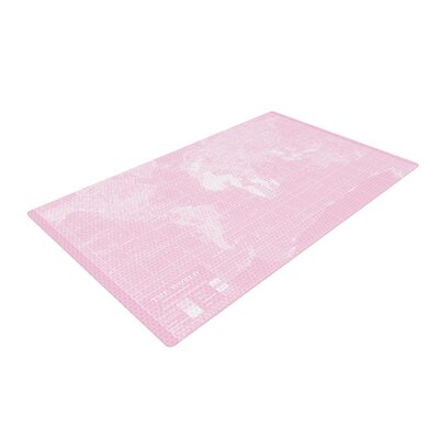 Catherine Holcombe Her World Pink Area Rug Rug Size: 2 x 3