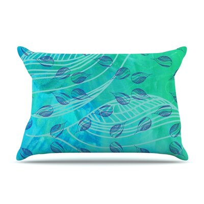 Sweet Summer Swim by Catherine Holcombe Featherweight Pillow Sham Size: Queen, Fabric: Woven Polyester