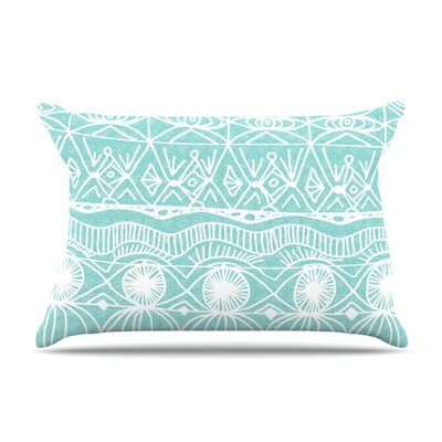 Beach Blanket Bingo by Catherine Holcombe Featherweight Pillow Sham Size: Queen, Fabric: Woven Polyester