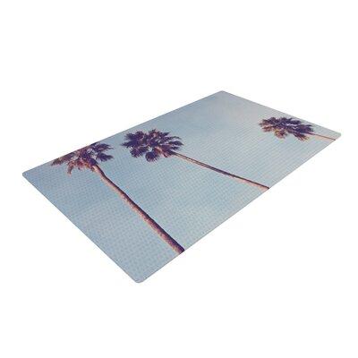 Catherine McDonald Sunshine and Warmth Blue Area Rug Rug Size: 4 x 6