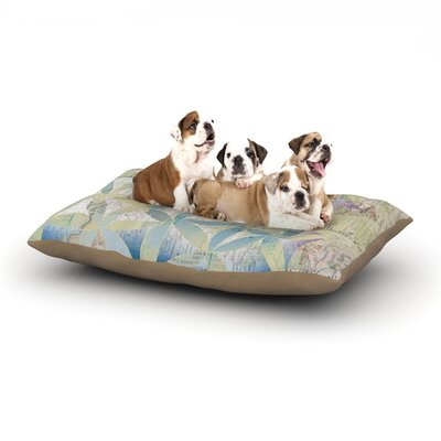 Catherine Holcombe Miraculous Recovery Butterfly Dog Pillow with Fleece Cozy Top Size: Large (50 W x 40 D x 8 H)