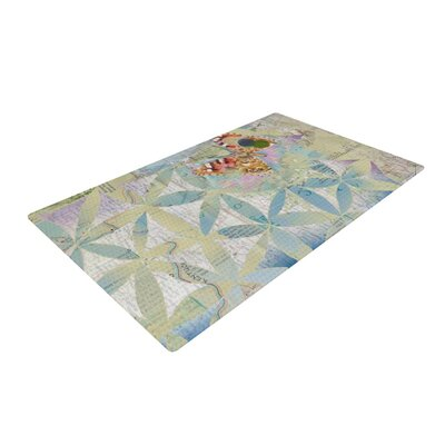 Catherine Holcombe Miraculous Recovery Butterfly Gray Area Rug Rug Size: 2 x 3
