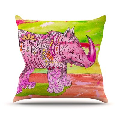 Pretty by Catherine Holcombe Throw Pillow Size: 26 H x 26 W x 1 D