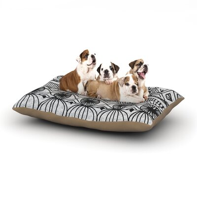 Catherine Holcombe Blanket of Confusion Dog Pillow with Fleece Cozy Top Size: Small (40 W x 30 D x 8 H)