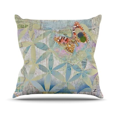 Miraculous Recovery by Catherine Holcombe Butterfly Throw Pillow Size: 26 H x 26 W x 1 D