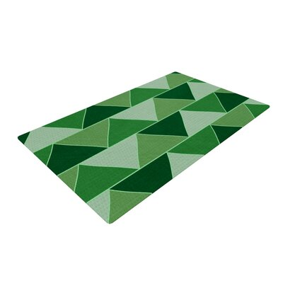 Catherine McDonald Emerald City Green Area Rug Rug Size: 2 x 3