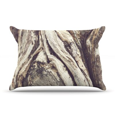 Bark by Catherine McDonald Featherweight Pillow Sham Size: Queen, Fabric: Woven Polyester
