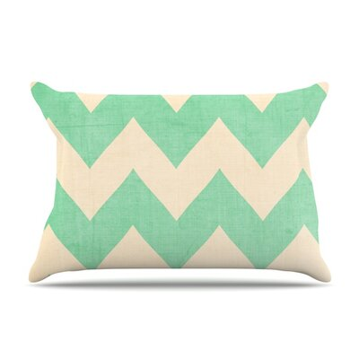 Malibu by Catherine McDonald Featherweight Pillow Sham Size: Queen, Fabric: Woven Polyester
