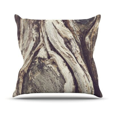 Bark Throw Pillow Size: 20 H x 20 W x 1 D