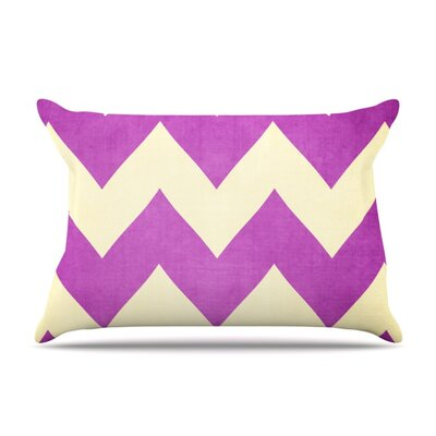 Juicy by Catherine McDonald Featherweight Pillow Sham Size: Queen, Fabric: Woven Polyester