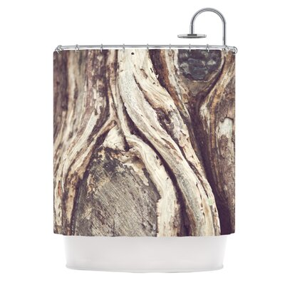 Catherine McDonald Bark Shower Curtain