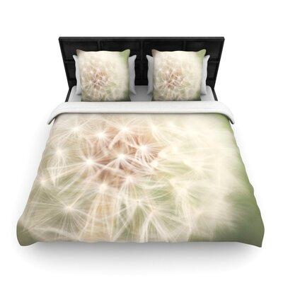 Dandelion Woven Comforter Duvet Cover Size: Twin