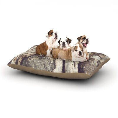 Catherine McDonald Bark Dog Pillow with Fleece Cozy Top Size: Small (40 W x 30 D x 8 H)
