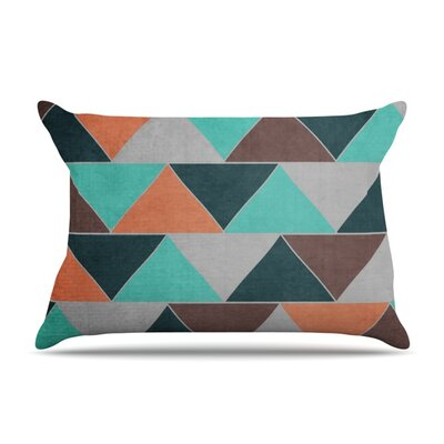 Southwest by Catherine McDonald Featherweight Pillow Sham Size: King, Fabric: Woven Polyester