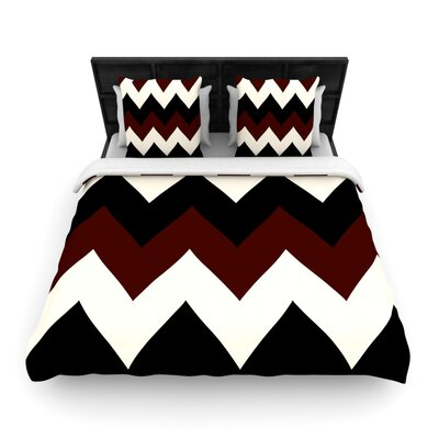 Catherine McDonald Woven Comforter Duvet Cover Size: Full/Queen, Color: Oxfords and Button Ups