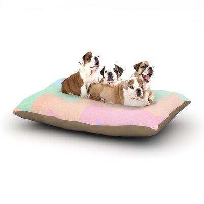 Catherine McDonald Blaze Dog Pillow with Fleece Cozy Top Size: Small (40 W x 30 D x 8 H)