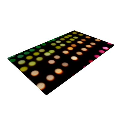 Catherine McDonald City Lights Black Area Rug