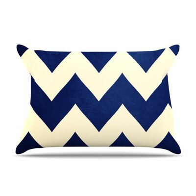 Fleet Week by Catherine McDonald Featherweight Pillow Sham Size: Queen, Fabric: Woven Polyester