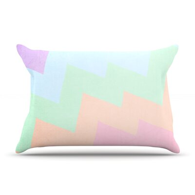 Blaze by Catherine McDonald Featherweight Pillow Sham Size: King, Fabric: Woven Polyester
