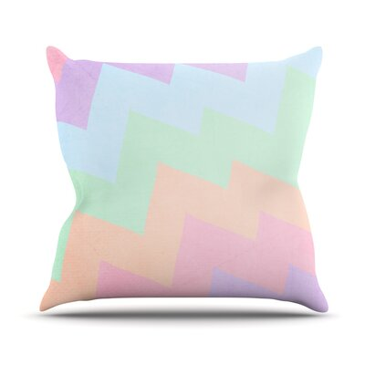 Blaze by Catherine McDonald Throw Pillow Size: 18 H x 18 W x 1 D