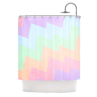Catherine McDonald Blaze Shower Curtain