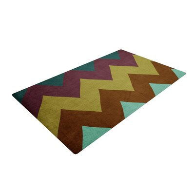 Catherine McDonald Mountain High Art Object Area Rug Rug Size: 2 x 3