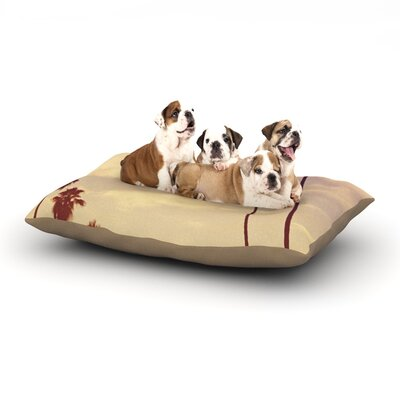 Catherine McDonald Endless Summer Dog Pillow with Fleece Cozy Top Size: Small (40 W x 30 D x 8 H)