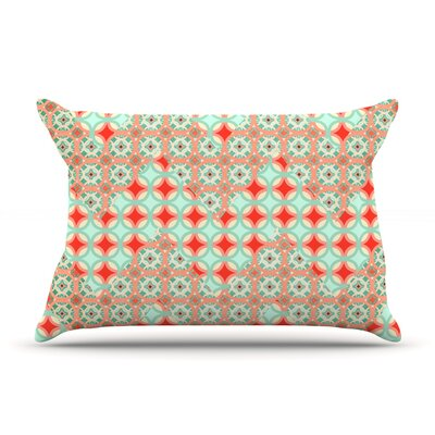 Traveling Caravan by Catherine McDonald Featherweight Pillow Sham Size: King, Fabric: Woven Polyester