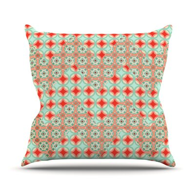 Traveling Caravan Pattern Throw Pillow Size: 16 H x 16 W x 1 D