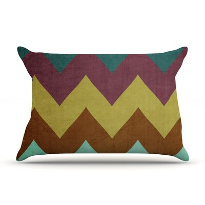 Mountain High by Catherine McDonald Featherweight Pillow Sham Size: Queen, Fabric: Woven Polyester