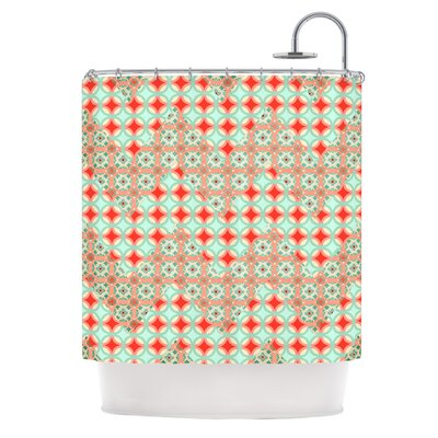 Catherine McDonald Travelling Caravan Shower Curtain