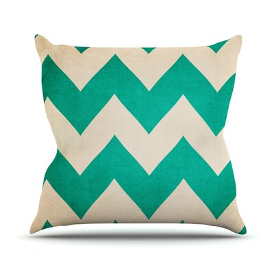 2013 by Catherine McDonald Chevron Throw Pillow Size: 20 H x 20 W x 1 D
