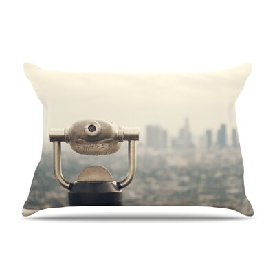 The View LA by Catherine McDonald Featherweight Pillow Sham Size: Queen, Fabric: Woven Polyester