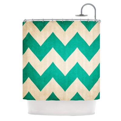 Catherine McDonald 2013 Chevron Shower Curtain